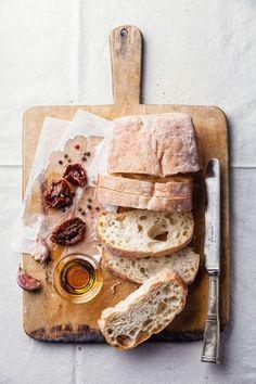 Photograph чиабатта by Natalia Lisovskaya on - Baking Bread & Rolls - Brot Pain Au Levain, Good Food, Yummy Food, Food Photography Tips, Ciabatta, Food Pictures, Food Inspiration, Bakery, Food Porn