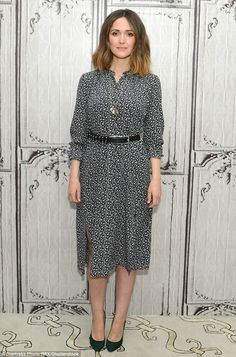 She's still got that glow! New mother Rose Byrne was glowing as she attended the AOL Build Speaker Series for her upcoming film The Meddler in New York on Tuesday