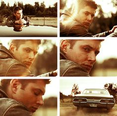 """""""So this is it? We're leaving?"""" """"He doesn't want me around anymore G'... and who can blame him?"""" """"What happened wasn't your fault Dean.  She went in there of her own free will"""" """"Yeah but I suggested it.  I got her killed. Harlows dead because of me"""" """"Dean..."""" """"Don't G... just get in the car and let's go..."""" """"But..."""" """"I'll go without you if I have to..."""" """"Fine.. Let's go..."""""""
