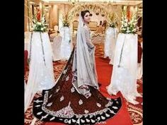Unique Wedding Designer Embroidery Lehenga Gown Collection 2016 2017