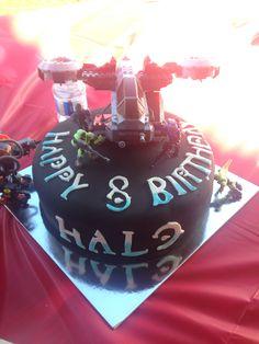 Halo Birthday cake