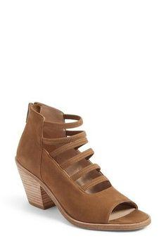 4d3856d25 Eileen Fisher Women's James Sienna Bootie Lace Zip Up Womens Tan NIB 8M  Heels | eBay