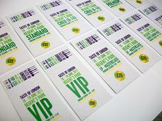 Awesome Examples Of Concert Ticket Designs Event Ticket