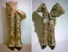 These are some of the spats Marie Antoinette actually wore