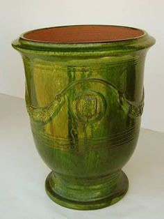 large green glazed pots - Google Search