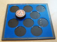 Hockey Puck Jig for Roland VersaUV LEF12 with by CustomMadeStuff, $49.00