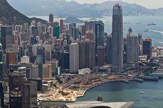 Hong Kong Skyline, day.