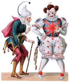 Pantaloon and Clown.