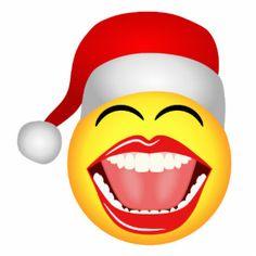 christmas santa smiley fun funny photosculpture standing photo sculpture smiley emoji emoji faces smiley - Christmas Smiley Faces