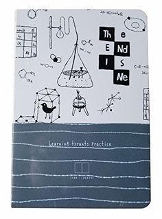 Maxleaf Glue Sewn Binding Notebook Fashion Design Notebook Size 185 x 125 mm 80 Sheets