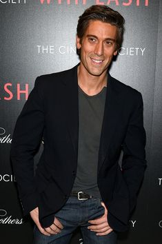 <b>David Muir Photos</b> - 'Whiplash' Screening in NYC — Part 3 - Zimbio