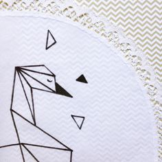 """Petit napperon collection """"Origami"""""""