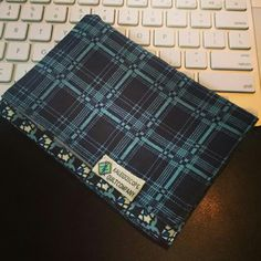 Kaleidoscopequiltco.etsy.com Handkerchief, edc, every day carry, men's fashion, hank, pieced, patchwork, quilted