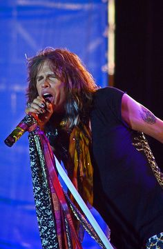 Steven Tyler~Aerosmith                                                                                                                                                     More