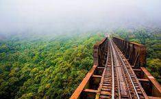 O Brasil de trem: sim, é possível viajar sobre trilhos no país! Veja os roteiros