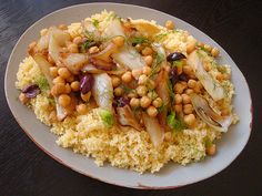 chickpeas fennel and citrus couscous with chickpeas fennel and citrus ...