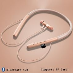Buy bloototh earphone Cordless Headphone Stereo Bluethooth Earphone With MIC Bluetooth 5.0 Wireless Magnetic Headphones For Phones at Wholesale Price. Free or Lowcost Worldwide Shipping. And large of options in our best Portable Audio & Video category with cheapest price on Pricetug.com Cordless Headphones, Consumer Electronics, Bluetooth, Magnets, Audio, Amp, Free, Products, Gadget