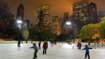 Central Park Ice Skating at Trump Rink, New York City