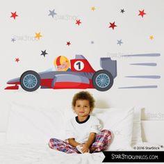 Coche Fórmula 1 - Vinilos infantiles