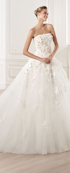 Pronovias Wedding Dress - 2014 Elie By Elie Saab - MENSA (Style 1/10)