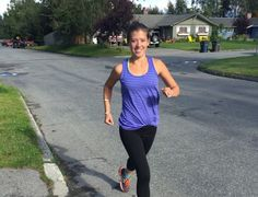 Sabrina Walker does not let cystic fibrosis keep her from running; in fact, she…