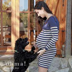 Bienvenido otoño!  #otoño2016 #ohmabarcelona #ohma #ropaparaembarazadas #ropapremama #embarazo #embarazada #vestidopremama #vestidolactancia #lactancia #vestidorayas #pregnantbelly #pregnant #maternitywear #maternitystyle #lactancy #pregnantdress #futuramama #futuramadre