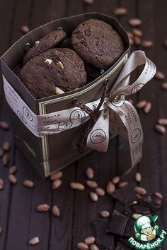 """♔ Cookies: Печенье """"Сникерс"""""""