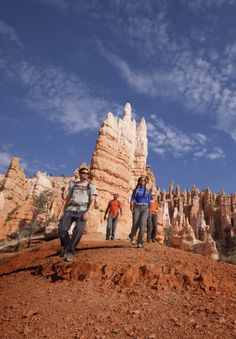 Incredible views hiking in Bryce / REI   Explore Bryce with the REI adventure team – great way to see the park #sponsored