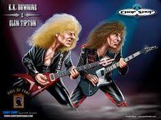 KK Downing & Glenn Tipton of Judas Priest! Judas Priest, Rock And Roll Bands, Rock N Roll, Iron Maiden, Ac Dc, Elvis Presley, Metallica, Hard Rock, 80s Hair Metal