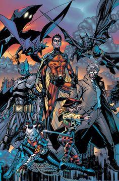 #Batman #And #Robin #Fan #Art. (Batman: Battle for the Cowl #2) By: Tony S. Daniel. (THE * 5 * STÅR * ÅWARD * OF: * AW YEAH, IT'S MAJOR ÅWESOMENESS!!!™) ÅÅÅ+