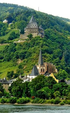 Stahleck Castle in the Upper Middle Rhine Valley at Bacharach, Germany | by stephencurtin