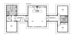 Clear Mountain kit home second level floor plan with measurements New House Plans, Small House Plans, Plan Canada, Portable Cabins, Cladding Materials, Roofing Options, Building Renovation, Roof Colors, Large Bedroom