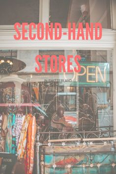 Are you looking for second-hand stores in Switzerland? This post includes a list with the best second-hand stores in Switzerland. Second Hand Shop, Two Hands, Switzerland, Online Business, Shops, Stuff To Buy, Shopping, Tents, Retail