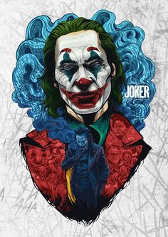 "Joaquin Phoenix won the best actor in a feature film for his excellent performance in the movie ""The Joker"". Photos Joker, Joker Images, Joker Poster, Le Joker Batman, Joker And Harley Quinn, Gotham Batman, Joker Cartoon, The Joker, Batman Art"