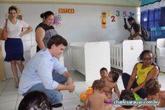 Santa Filomena Atual: Miguel Coelho visita cidade modelo em educação