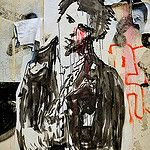 street art punk - Sid in Paris