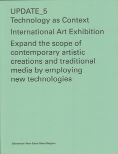 Neural [Archive] Update_5: Technology as Context MER Paper Kunsthalle http://archive.neural.it/init/default/show/2078