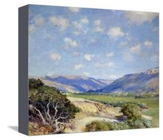 Carmel Valley Art Print by Guy Rose at Art.com