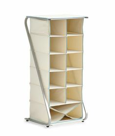 Free-Standing 14-Cubby Closet Organizer - Real Simple Solutions