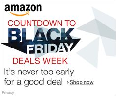Countdown to Black Friday Deals Week  https://www.amazon.com/b?node=384082011&tag=wonderfulrota-20&camp=0&creative=0&linkCode=ur1&adid=1W7Q9S3W0B30WHTGXKN0& #Deals #Amazon