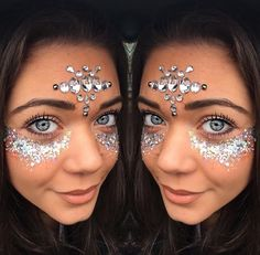 Silver jewels and glitter