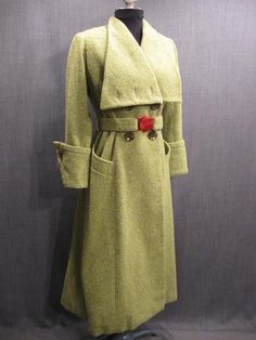 1930s ladies coats  see what I mean this can be done with butterick 5685