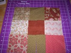 Advice for beginner quilt makers – choose an easy quilt pattern .