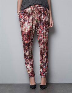 140e59edb32 2013 European and America Wind New Women Brand Loose Casual Print Harem  Pants
