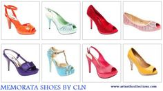 Collection Of MEMORATA Shoes By CLN