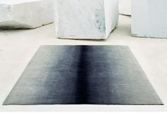 Charcoal rug by Fabien Baron for Elson & Company