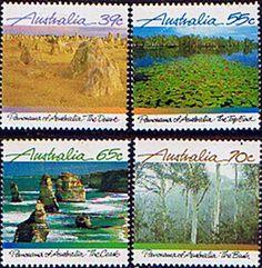 Australia 1988 Panorama Set Fine Mint SG 1161/4 Scott 1098/1101 Other Australian Stamps HERE