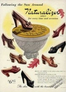 1940s Womens Shoes - links to online stores selling new shoes based on vintage styles