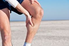 Ouch! Cramping during exercise? Studies are exploring the effect of dehydration and fatigue.