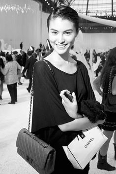 Sui He after Chanel SS2012